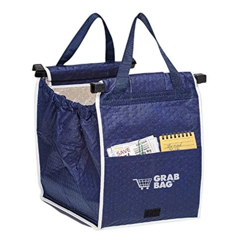 TRM original insulated grab bag hot or cold reusable grocery bag grabbag