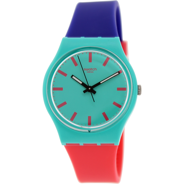 Swatch Women's Originals GG215 Multi Silicone Swiss Quartz Watch