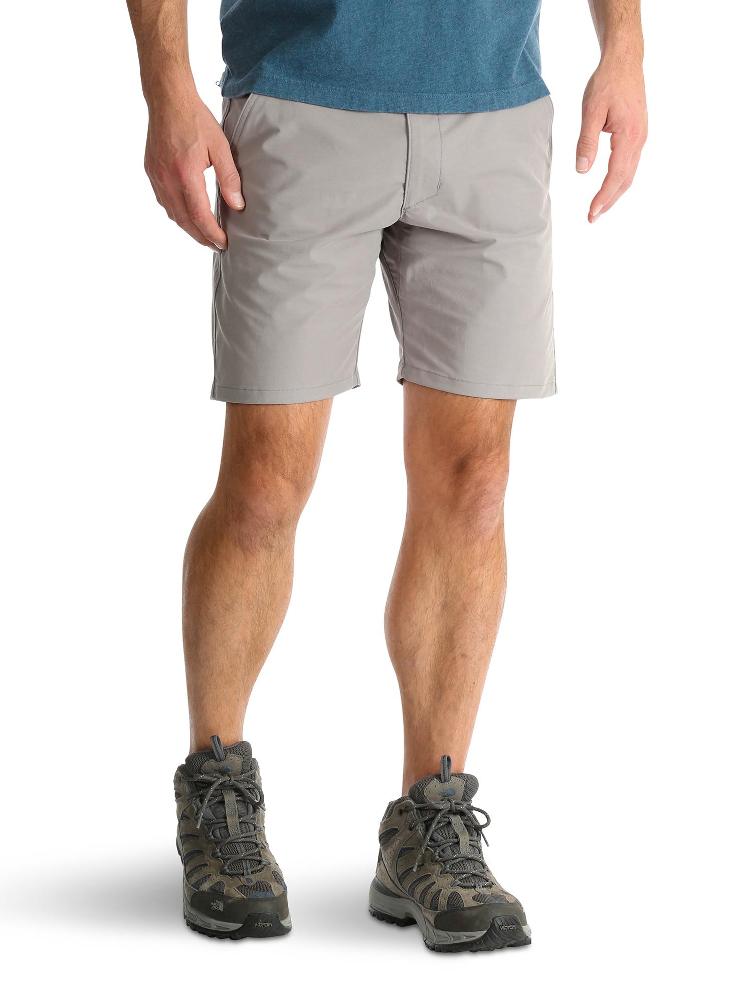 Men's Outdoor Back Elastic Flat Front Short