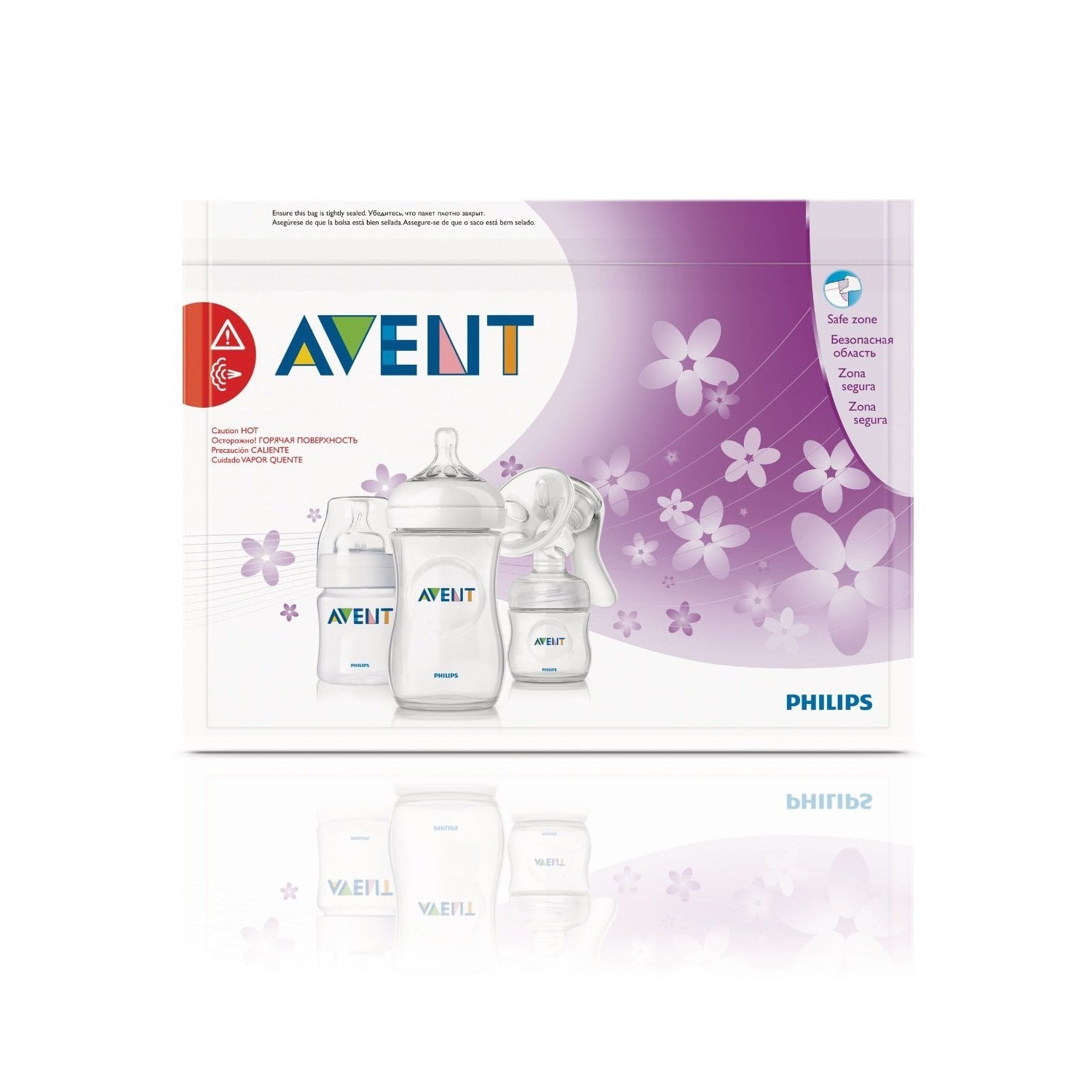 Philips AVENT Microwave Steam Sterilizer Bags, BPA-Free