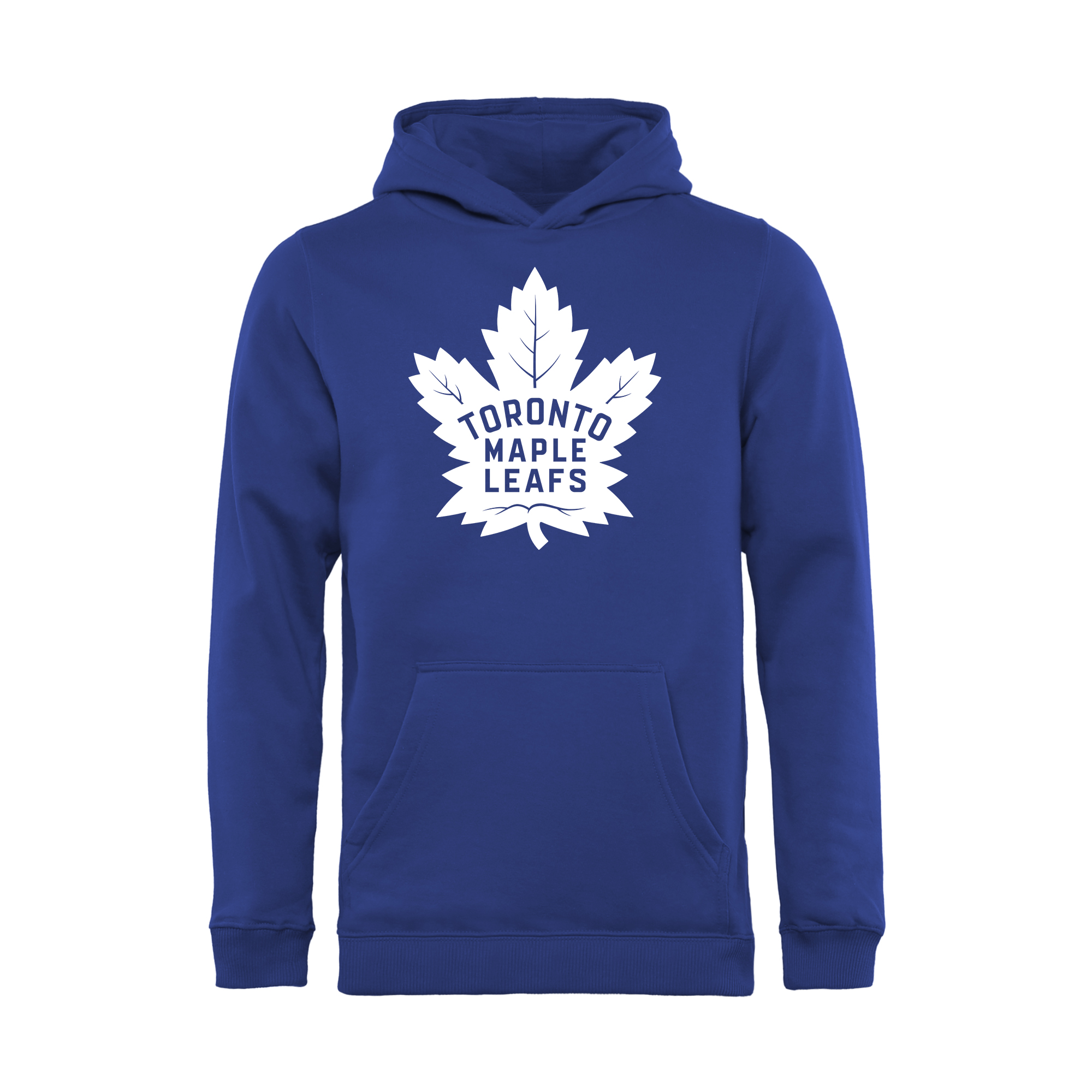 Toronto Maple Leafs Youth New Primary Logo Pullover Hoodie - Blue