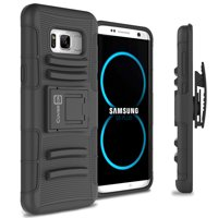 CoverON Samsung Galaxy S8 Case, Explorer Series Protective Holster Belt Clip Phone Cover