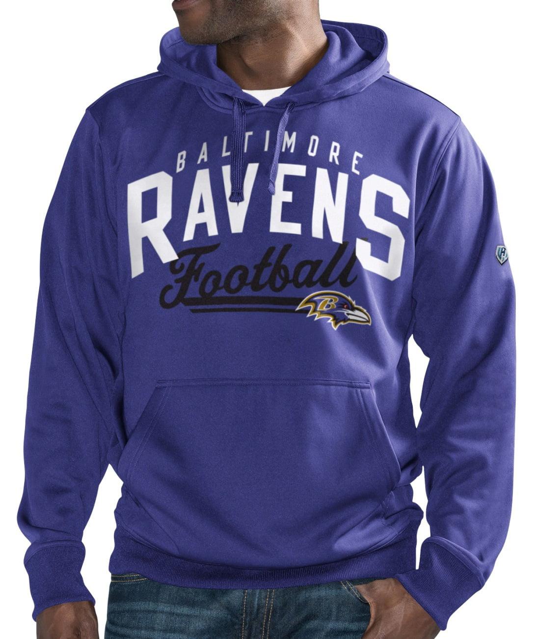 "Baltimore Ravens NFL Men's G-III ""Rushing"" Pullover Hooded Fleece Sweatshirt by G-III Sports"