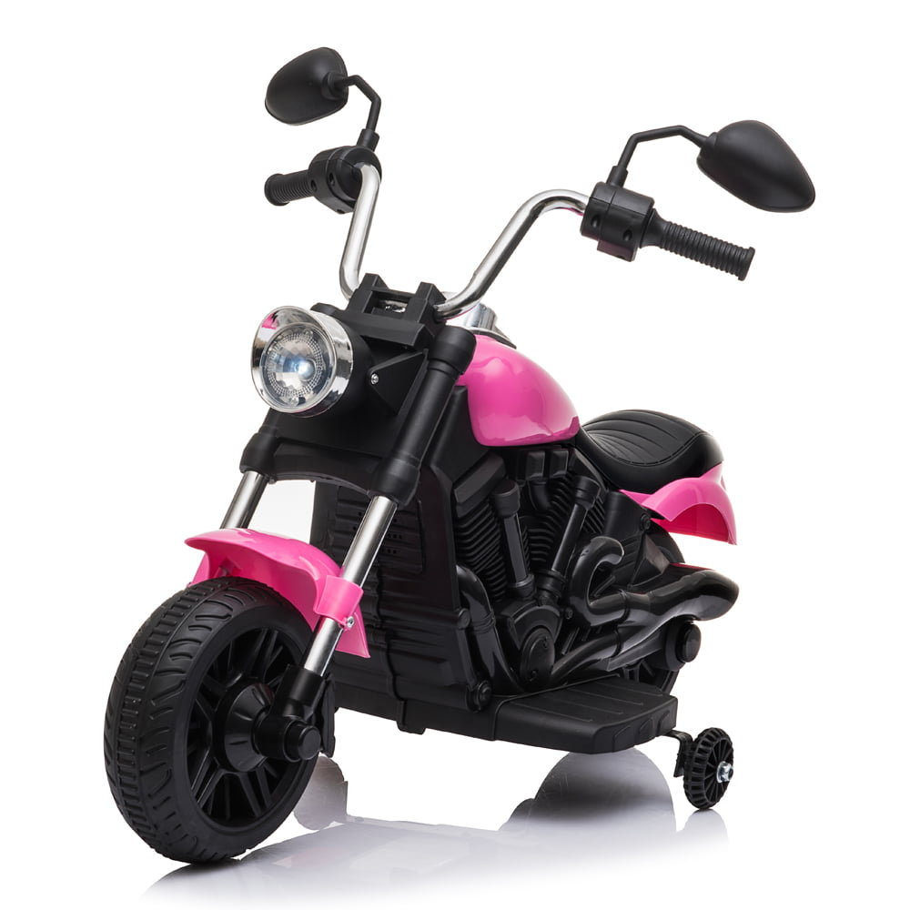 Kids Unicorn Quad Bike 6V Rechargeable Childrens Girls Pink Ride On Age 3 NEW