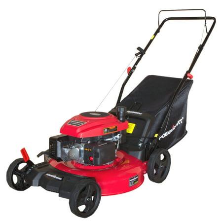 "PowerSmart DB2194P 21"" 3-in-1 160cc Gas Push Lawn Mower"