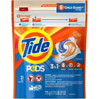 Tide PODS HE Turbo Laundry Detergent Pacs, Original Scent, 31 count