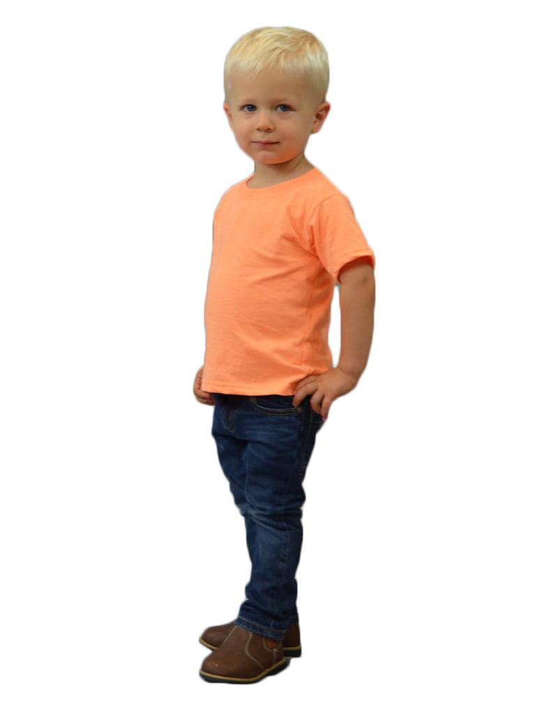 MONAG Toddler Short Sleeve Vintage Crew Neck Tee
