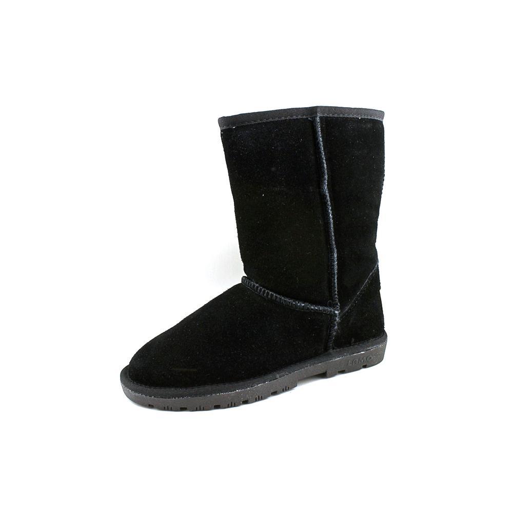 "Lamo 9"" Boot Women Round Toe Suede Black Winter Boot by Lamo"