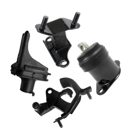For 03-07 Honda Accord 3.0L 4517 4581 4582 65025 Motor & Trans Mount 03 04 05 06 07 (04 Honda Accord Bluetooth Adapter)