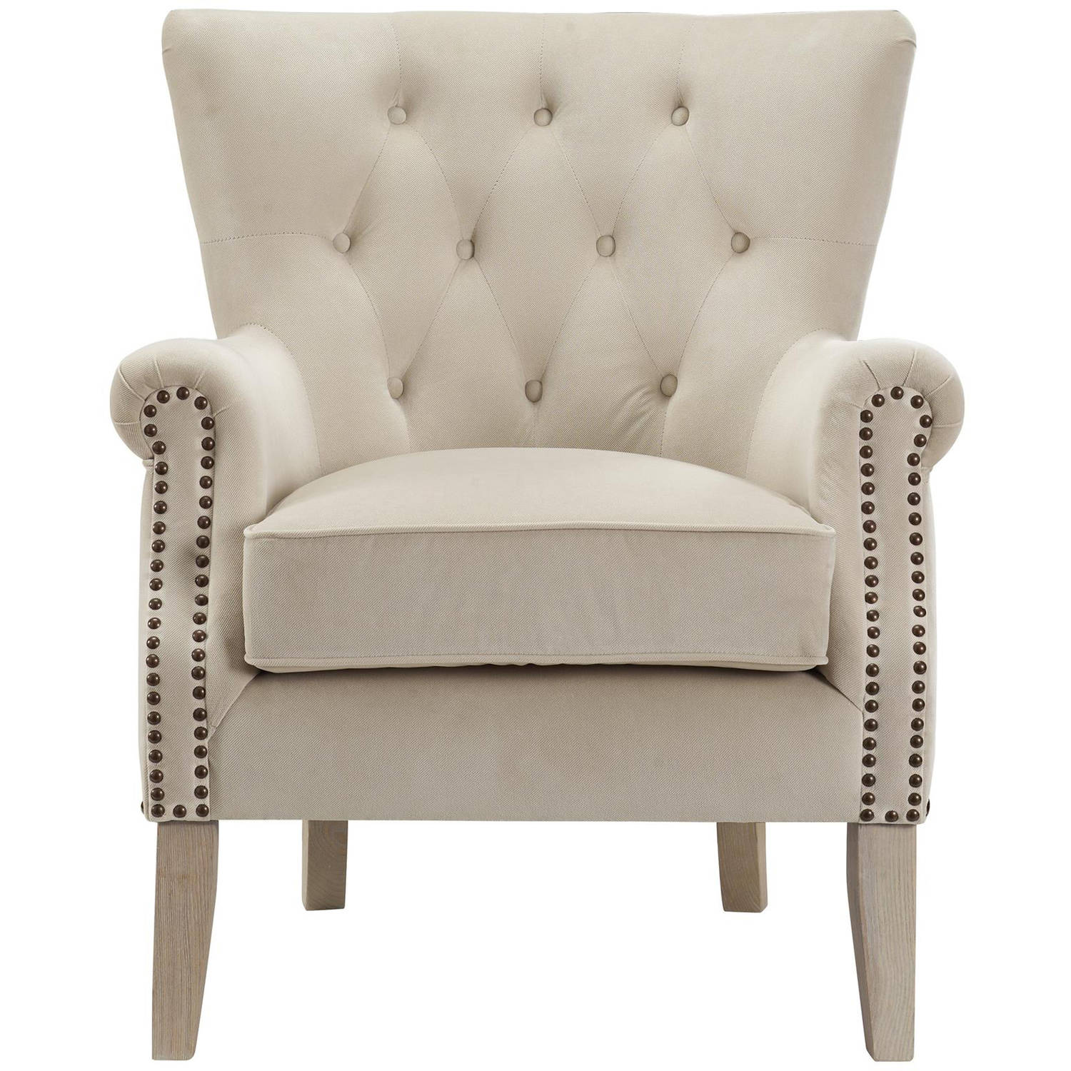 Better Homes And Gardens Rolled Arm Accent Chair, Multiple Colors    Walmart.com
