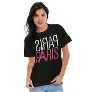 Paris Ladies TShirts Tees T For Women City of Love Romantic Couple France