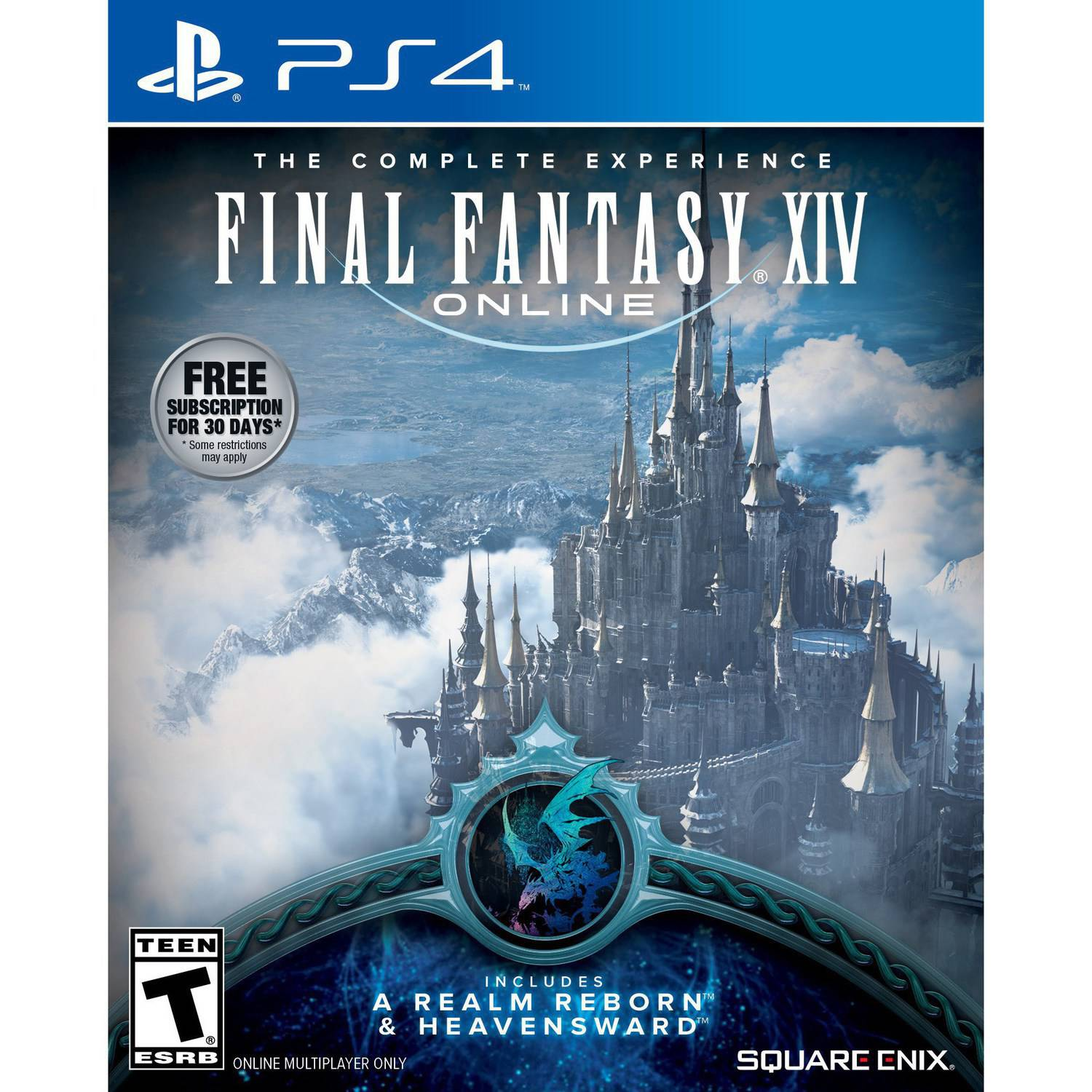 Final Fantasy XIV: A Realm Reborn (PS4) - Pre-Owned