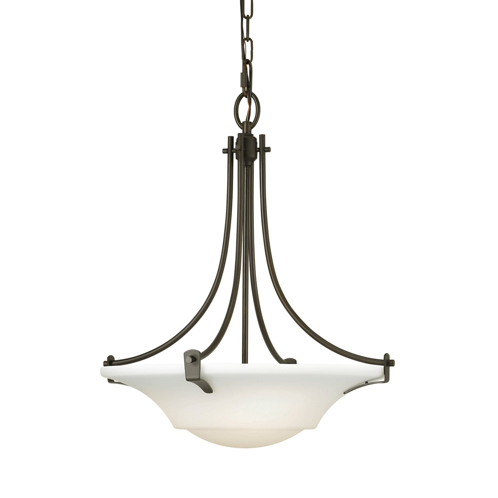 Feiss Barrington Pendant Light 18W in. Oil Rubbed Bronze by Murray Feiss