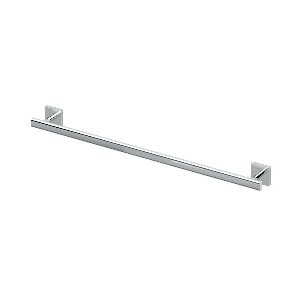 """4050 Elevate 24"""" Towel Bar, Chrome, The Elevate Suite was designed to uplift any bathroom with its pure escutcheon... by"""