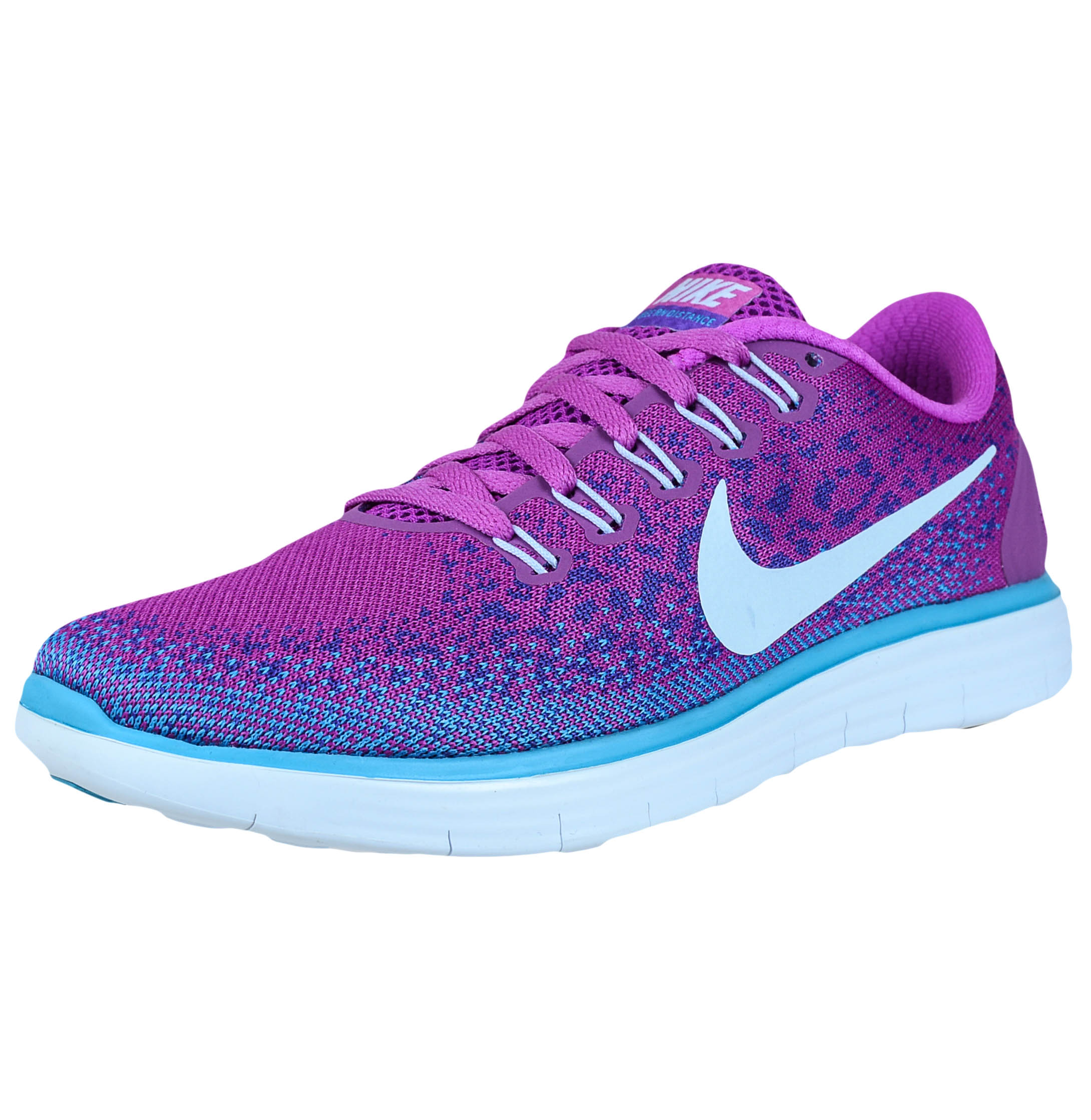 separation shoes 5cb17 fa887 ... free shipping nike nike womens free rn distance running shoes hyper  violet blue tint 827116 501