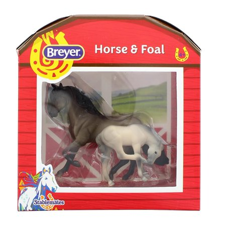 Breyer 1:32 Stablemates Model Horse: Grulla Mare &