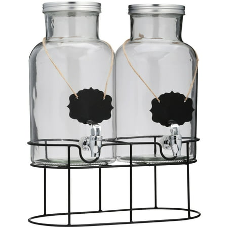 Halloween Beverage Dispenser (Chalkboard Double Drink Beverage)