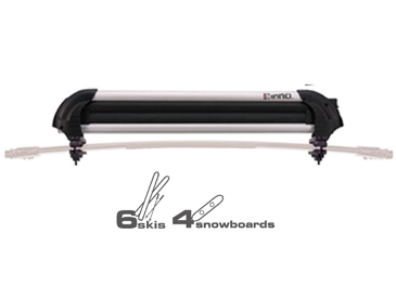 INNO Racks Gravity 6 Skis 4 Snowboard Rack Carrier INA927 by INNO Roof Racks