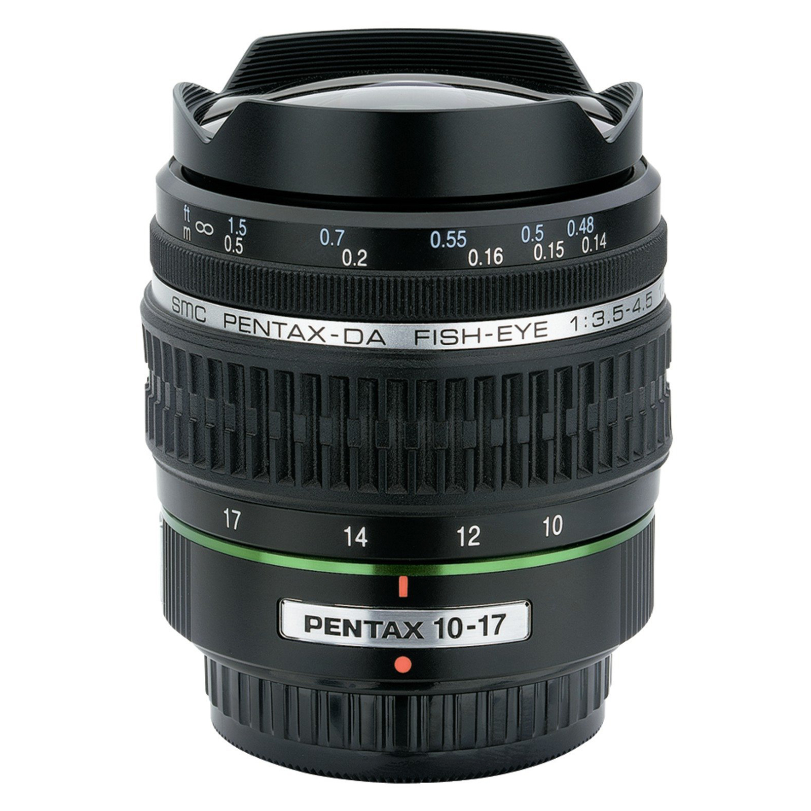 PENTAX DA 10-17mm f/3.5-4.5 ED (IF) Fish-Eye Lens for Pentax Digital SLR