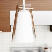 Vonn Lighting VMP22111WH 7 inch x 5 inch LED Kuma Pendant Light, White