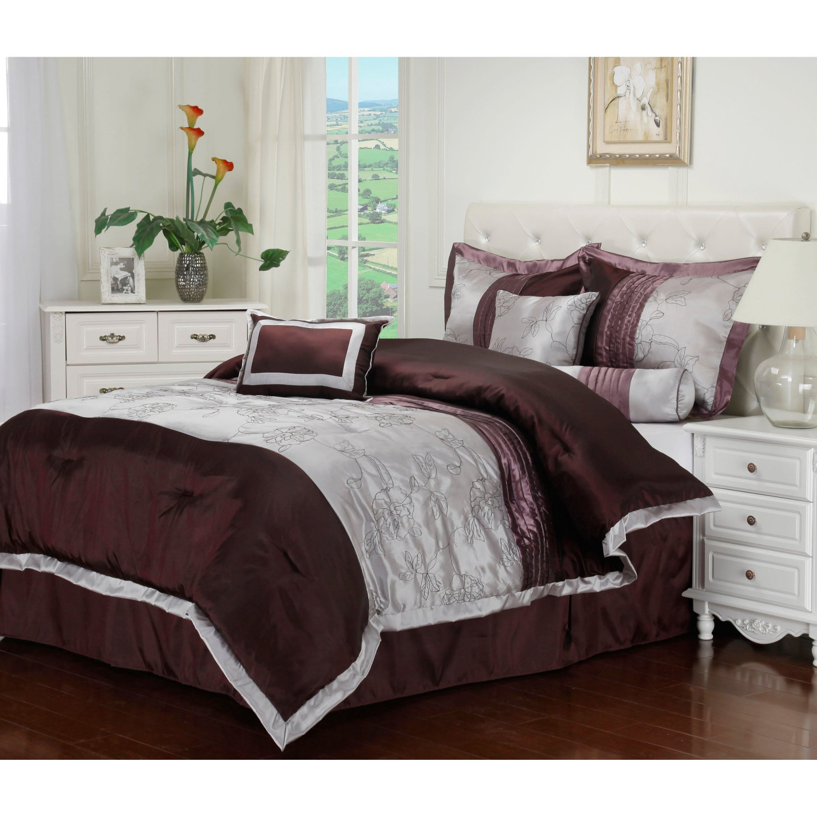 Superior Kashmir 7 Piece Bedding Set