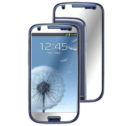 Insten 6x Mirror LCD Static Screen Protector Cover Guard For Samsung Galaxy S III S3 i9300
