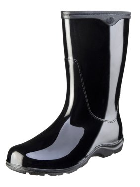Sloggers Women's Black Waterproof Rain Boots