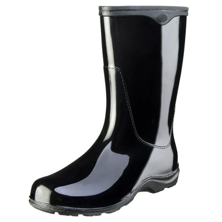 Sloggers Womens Black Waterproof Rain Boots
