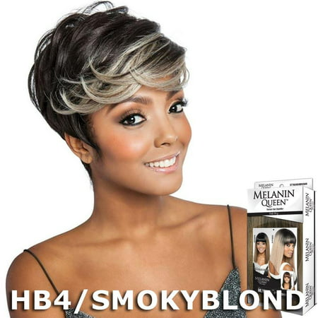 Melanin Queen Human Hair Blend Full Wig - ML102 (XF1B/99J530)