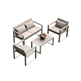 Forrest Outdoor Wicker Accent Table