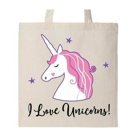 Cute Tote Bags (Unicorn Girls Cute Fantasy Gift Tote)