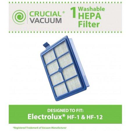 Electrolux Washable HF1, HF12, EL012 HEPA Filter, Part # H13, SP012, H12, 60286A, EL020 & EF26 Hf1 Hepa Filter