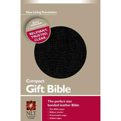 Holy Bible: New Living Translation, Black Leather, Promo Edition