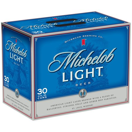 Michelob Light Beer, 30 Pk. 12 Oz. Cans