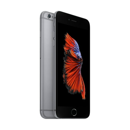 00676dc5ae3825 Straight Talk Prepaid Apple iPhone 6s Plus 32GB, Space Gray - Walmart.com
