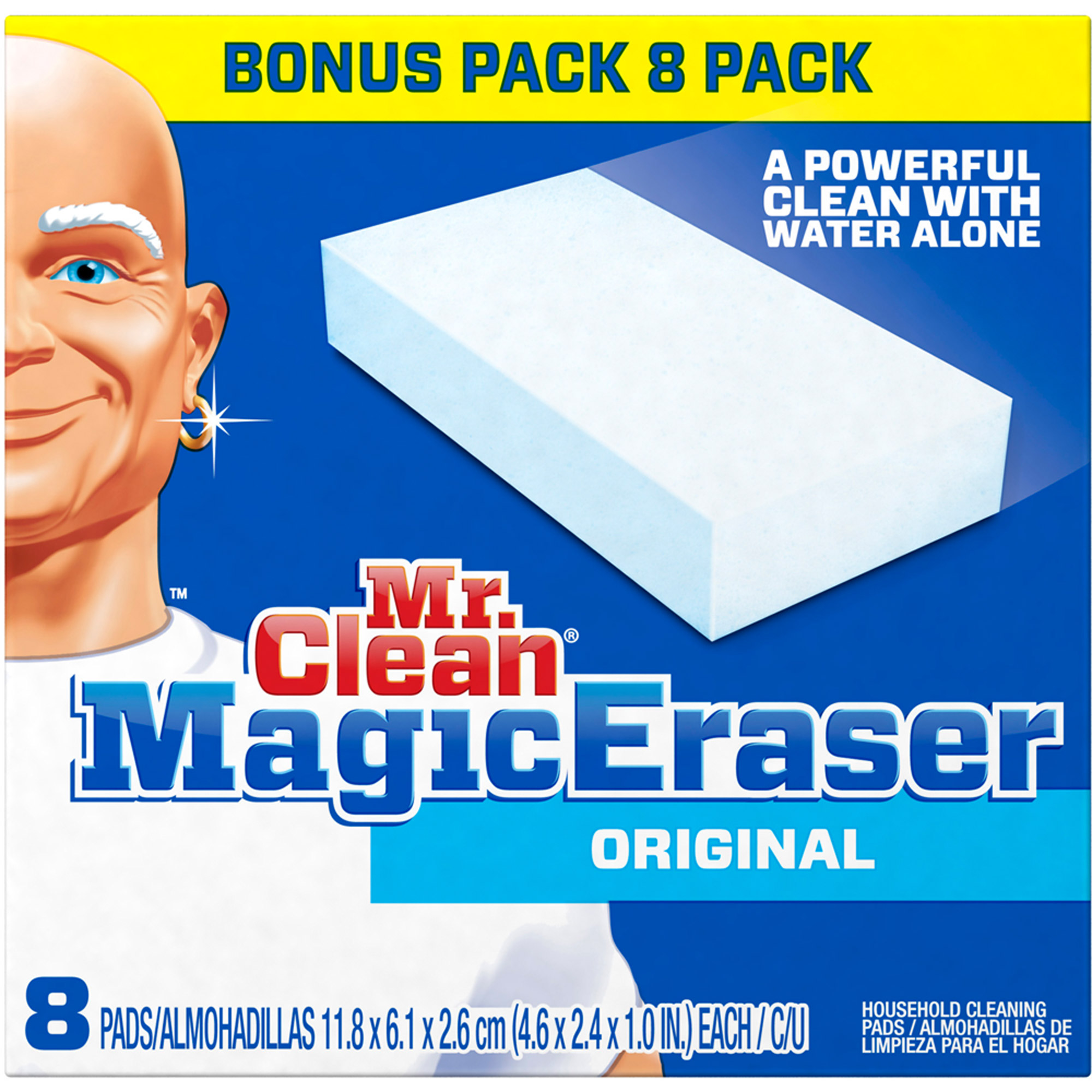 Mr Clean Magic Eraser Original, 8 count