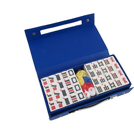 Classic Games Collection Travel Mah Jong in Attache Case