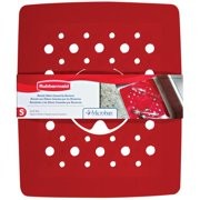 Rubbermaid Antimicrobial Sink Mat Red