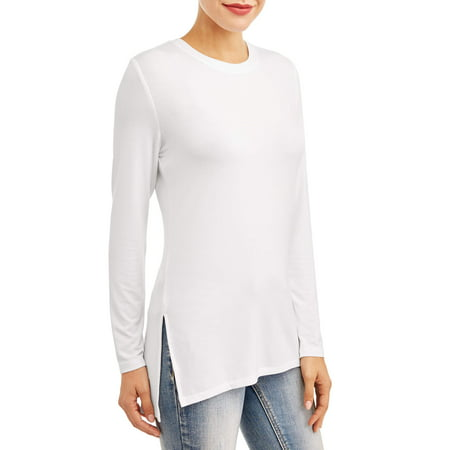- Women's Long Dolman Sleeve Knit Tunic Top