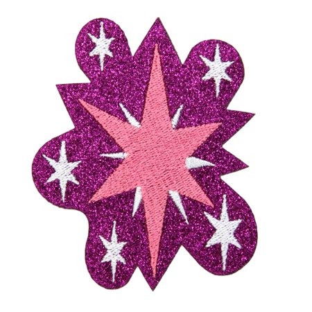 My Little Pony Twilight Sparkle Glitter Costume Patch Unisize - My Little Pony Twilight Sparkle Costume
