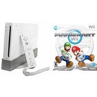 Refurbished Nintendo Wii Console White with Mario Kart Bundle System