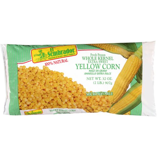 El Sembrador Whole Kernel Extra Sweet Yellow Corn, 32 oz