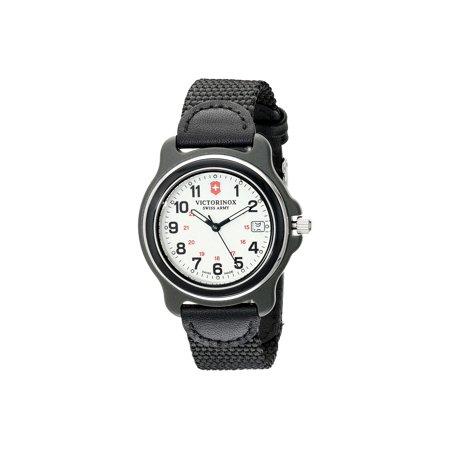 - Swiss Army Original 249089 Men's Black Nylon Strap Watch