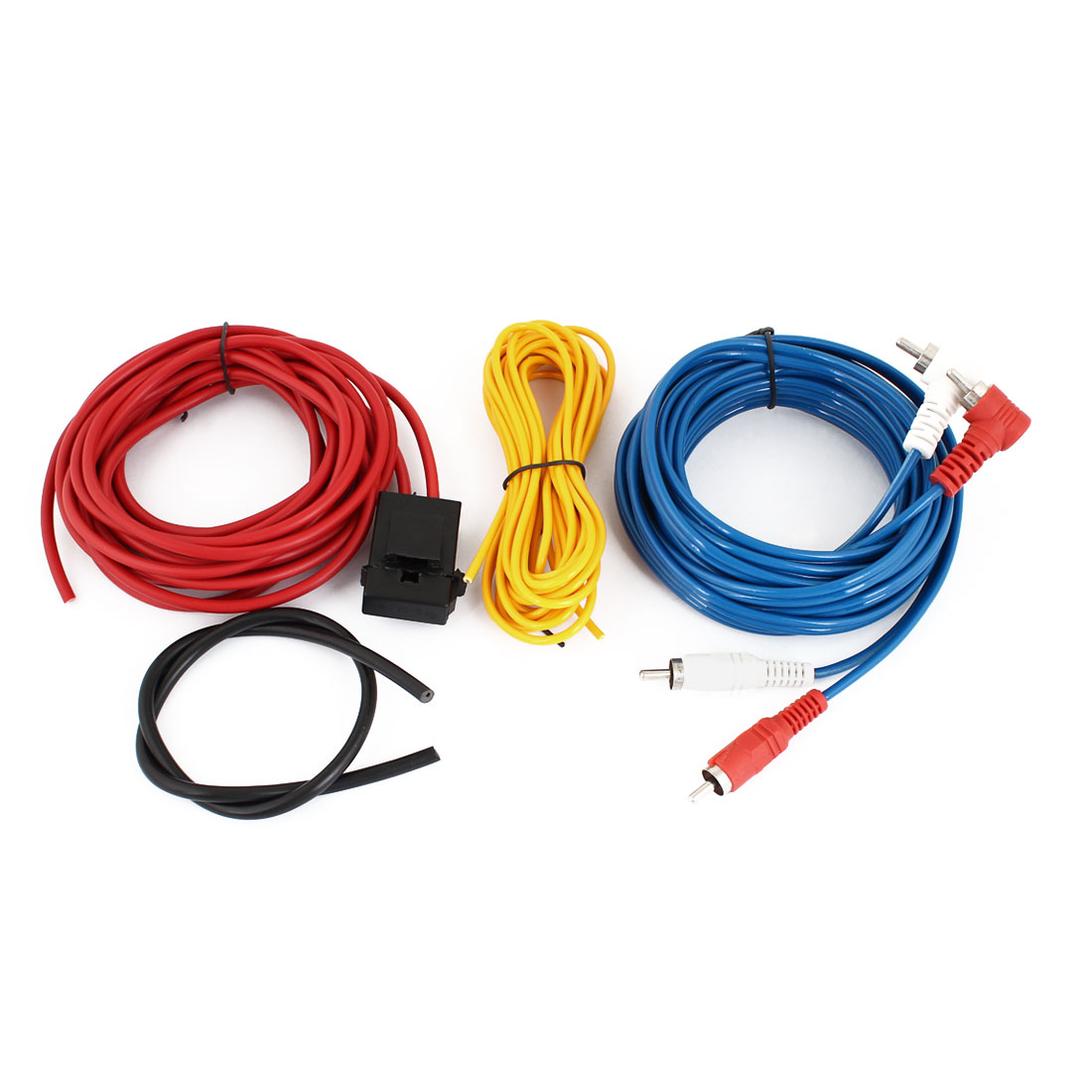 Vehicle Car Rca Audio Video System Amplifier Wiring Cable Wire Kit