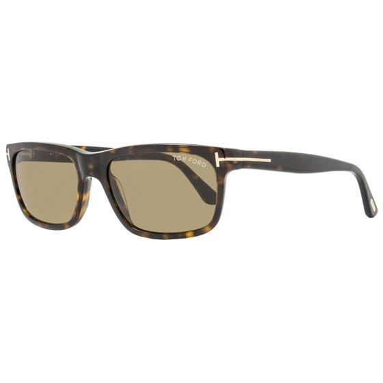 df6d22d35f18d Tom Ford - Tom Ford Rectangular Sunglasses TF337 Hugh 56J Havana FT0337 -  Walmart.com