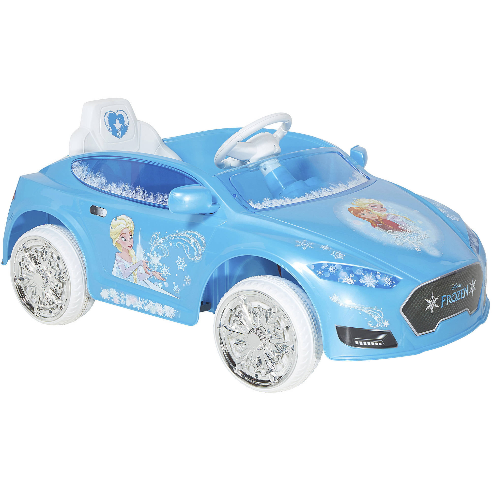 4cc049384eb Disney Frozen 6V Speed Electric Battery-Powered Coupe Ride-On - Walmart.com
