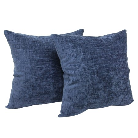 Blue Marlin Pillow (Mainstays Chenille Decorative Throw Pillow, 18