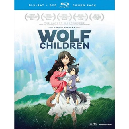 Wolf Children: The Movie (Blu-ray) - Fairies Movies For Kids