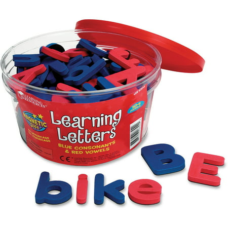 Spanish Magnetic Foam Learning Letters - Learning Resources, LRNLER6304, Magnetic Learning Letters, 104 / Set, Multi