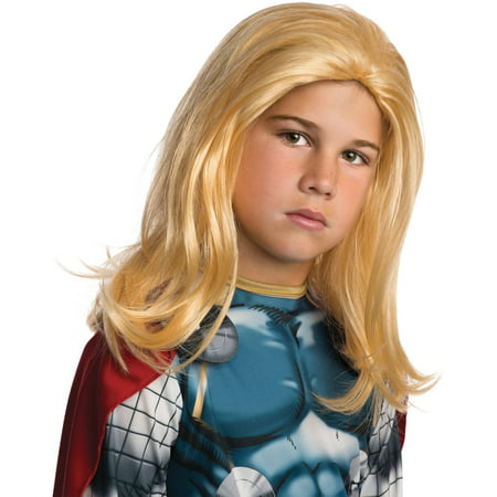 Thor Wig Child Halloween Accessory